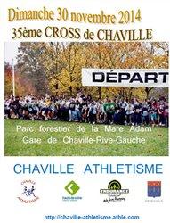 Cross de Chaville Le 30 novembre 2014
